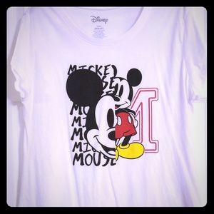 Mickey Mouse tshirt NWOT